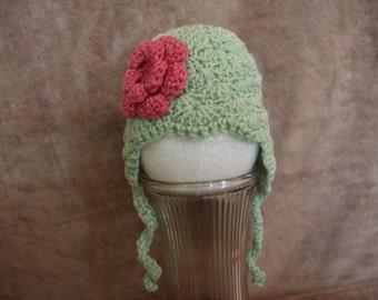 Crochet, Ear Flap, Baby