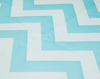 Sold BUY THE YARD Chevron Print Fabric- Comes In 5 Different Colors