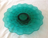 Tiara Exclusive Spruce Green Cake Plate