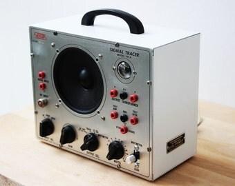 VintEico - Vintage Radio Test Device converted to a modern Music Speaker  TheVintageRaisin
