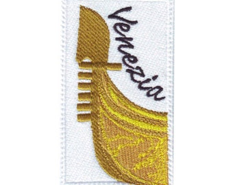 Venice Italy (B) Embroidered Sew On Patch
