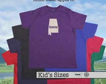 Alabama home tshirt KIDS sizes The Original home tshirt