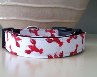 Dog Collar- Lobsters
