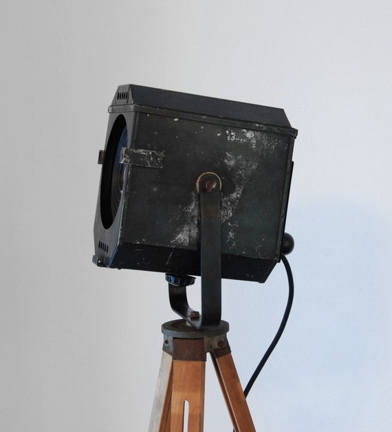40's Vintage Theater Stage Light Spotlight By PhotonicStudio