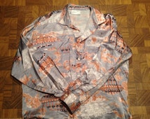 French and Indian War Vintage Button Down Shirt