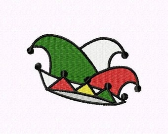 Embroidery pattern - Carnival hat Cologne
