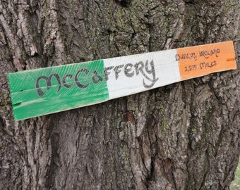 Custom Famly Heritage Distressed Wooden Sign