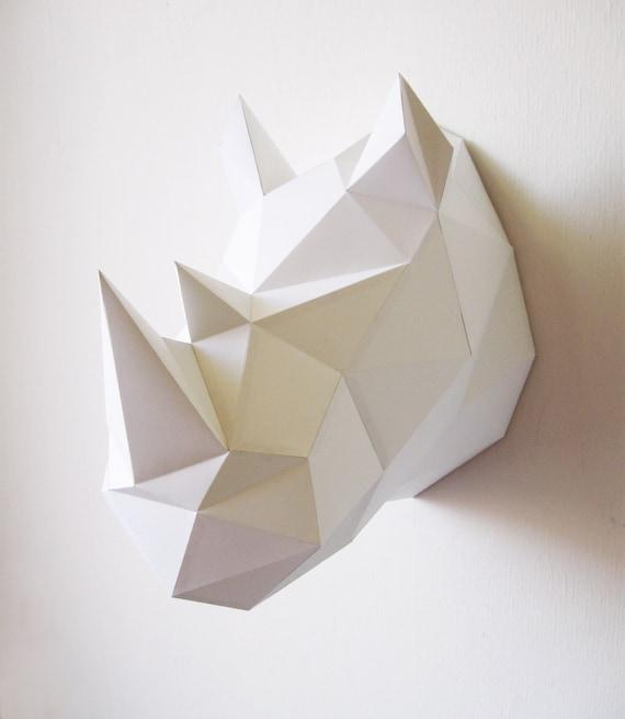 Paper Rhino Folding Kit