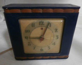 Gorgeous working Art Deco Clock
