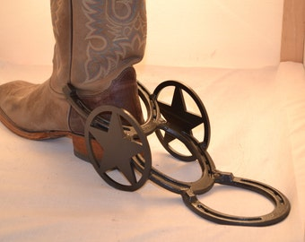 Rustic Horseshoe Boot Puller (Boot Jack)