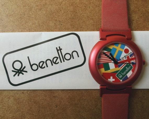Bennetton Vintage Watch at YaySales