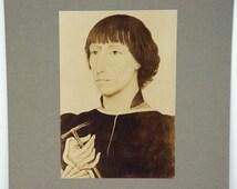 Rudolf Lesch Fine Arts Photo Print Flemish Painting Portrait of Lionello d' Este