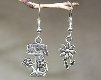 Garden flower earrings mix um up welcome spring