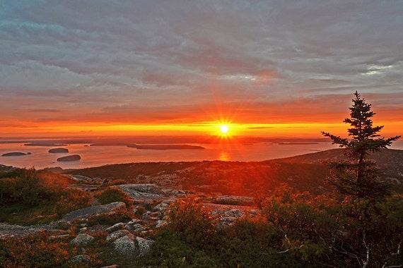 cadillac mountain sunrise acadia national park mount desert island. Cars Review. Best American Auto & Cars Review