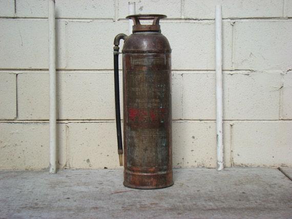 Stempel Kontrol Fire Extinguisher (empty) Wglass Bottle - Soda Acid