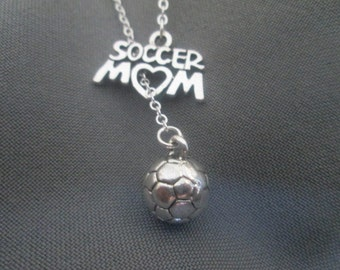 Soccer Mom Lariat Necklace