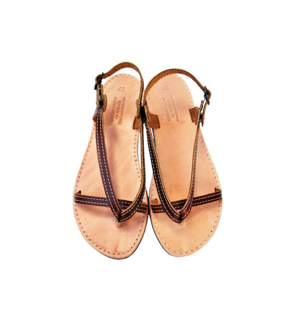 Leather Sandals from Nikola Leather Goods
