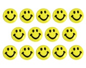 Jesse James Buttons 14 Color Me Smiley Yellow Dress It Up Novelty Buttons