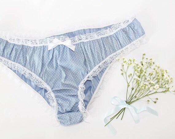 Blue Cotton Panties 64