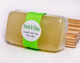 Oily/Acne Prone Skin needs our Fresh & Clean Soap
