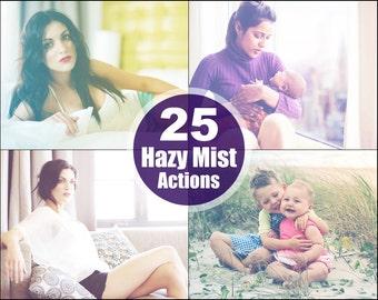 Hazy Mist Photoshop Elements Actions