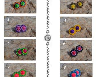 Beautiful peruvian earrings --> Waytacha (little flower)