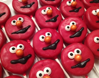 Elmo Oreo Pops - 1 dozen (12)