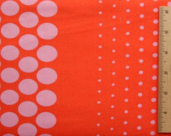 Jennifer Paganelli fabric JP03 ORANGE Bell Bottoms Amy Polka Dot Stripe free spirit sewing quilting fabric by the yard Cotton 1st Quality
