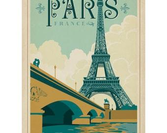 Paris France La Tour Eiffel Wall Decal #42245