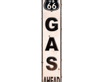 Route 66 Gas Station Roadside Wall Decal #51324