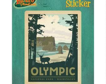 Olympic National Park Washington Vinyl Sticker #47939