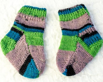 Free Knitting Patterns Babies : Two needle Etsy