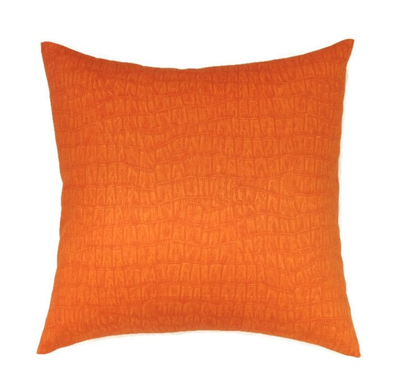 Throw Pillow Covers 20x20 : Orange Pillow Covers 20x20 Pillow Cover by ThePillowToss on Etsy