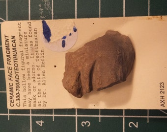 Teotihuican 300  AD Face Fragment