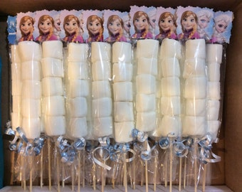 Disney Frozen Elsa and Anna  Marshmallow Favors  -