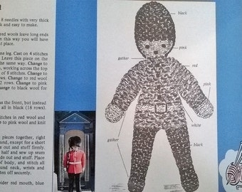 Knitting Patterns Toy Soldiers : Knitted soldier Etsy UK