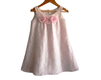 """The""""ELLY"""" Girl Dress Pattern/ Toddler Dress Pattern/ Childrens Sewing Pattern. Easy Sew Size 3T,4T,5,6&7"""