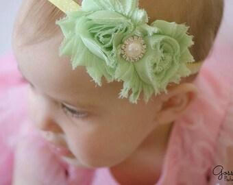 Tinkerbell Headband- Disney Inspired Headband, Fairy Headband, Disney Headband, Tinkerbell, Disney Princess, Photo Prop, Green Headband