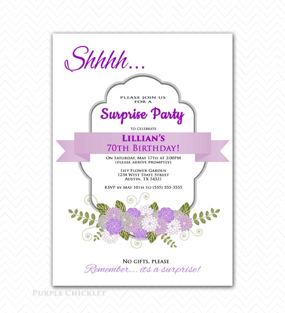 Invitations For 70Th Birthday was best invitation ideas