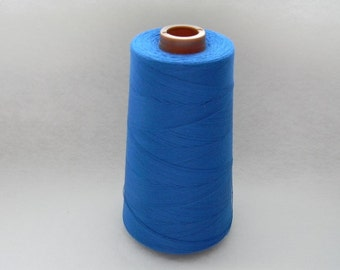Dark Blue-100% Polyester Sewing Thread 6,000 yards