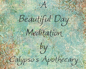 A Beautiful Day ~ Guided Meditation