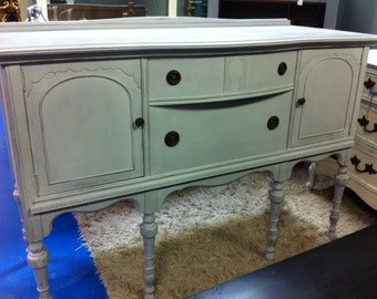 SOLD - Antique buffet - Paris Grey