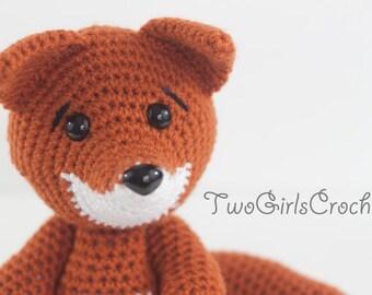 Crochet Fox Amigurumi (Foxy) - Made To Order