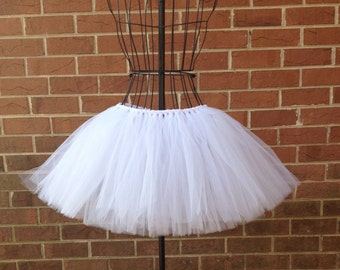 Angel Tutu - White Tutu - Available in Infant, Toddlers, Girls, Teenager and Adult Sizes