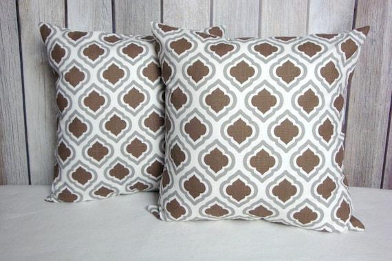 Brown Pillows. Brown Pillow Covers. Pillows. Throw Pillows. Accent Pillows. Cushion Covers
