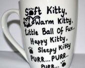Soft Kitty Warm Kitty - The Big Bang Theory Mug - Sheldon Cooper - TBBT 10 oz