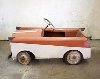 Amazing Working English Toy Pedal Car