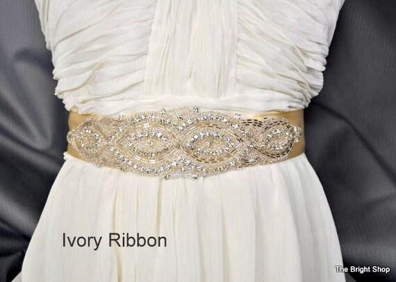 diy wedding sash diy weddings diy accessories rhinestone
