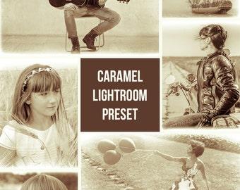 Caramel Lightroom Presets - Single Preset - Adobe Lightroom Preset for 4, 5, 6 and CC