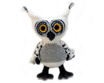 Crochet pattern Owl - amigurumi - instant download pdf